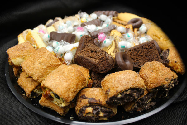 Dessert tray - catering at Mrs. Marty's Deli