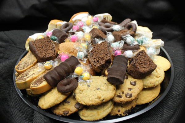 Scrumptious dessert catering tray