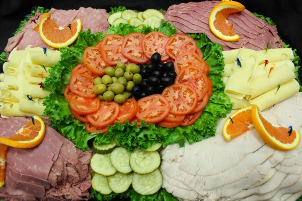 Catering- meat and cheese tray from Mrs Marty's Deli in Broomall, PA