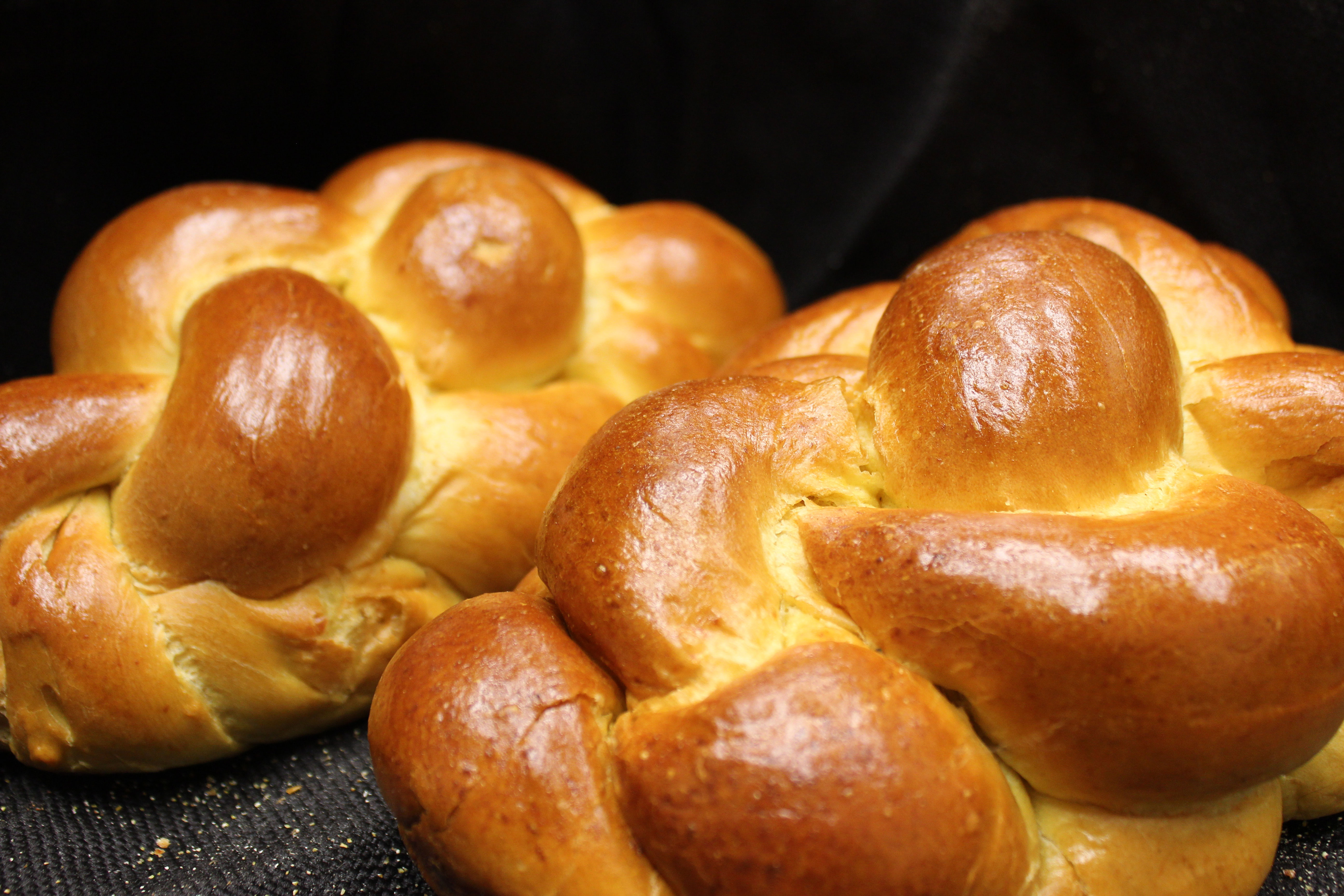 Fresh Challah at Mrs. Marty's Deli