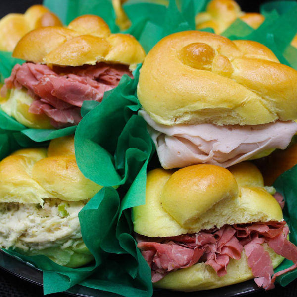 Sandwich tray: catering from Mrs Marty's Deli in Broomall, PA