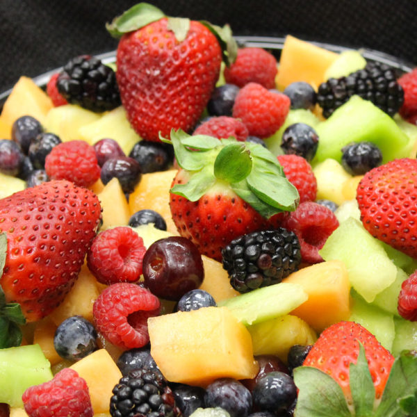 Catering- fresh fruit salad from Mrs Marty's Deli in Broomall, PA
