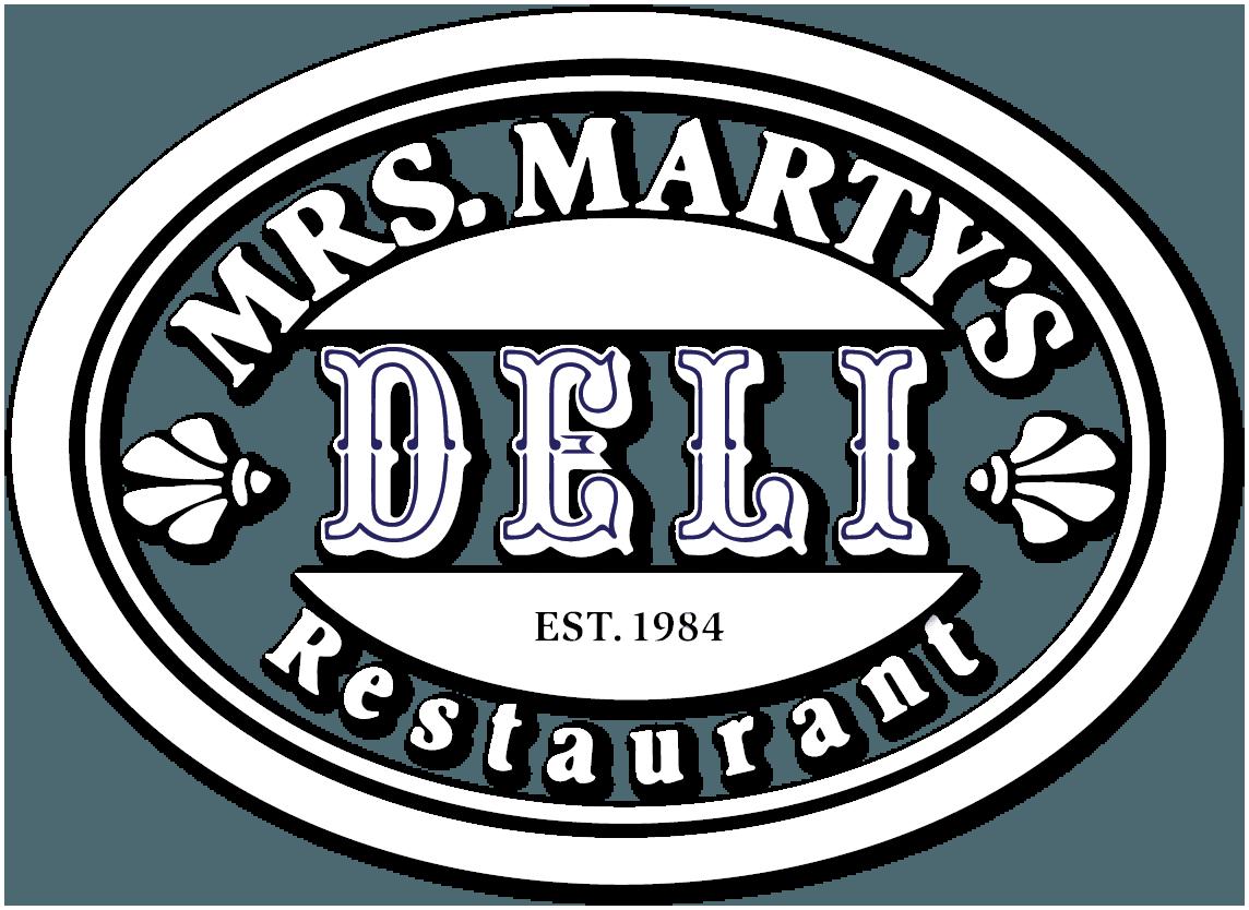 Mrs Marty's Deli logo